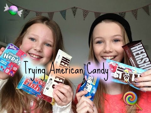 British sisters try american candy