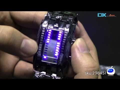 DX: SKMEI 0926 LED 30 Meter Waterproof Zinc Alloy Digital LED Watches For Men