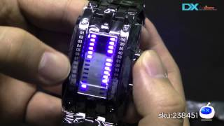 DX: SKMEI 0926 LED 30 Meter Waterproof Zinc Alloy Digital LED Watches for Men