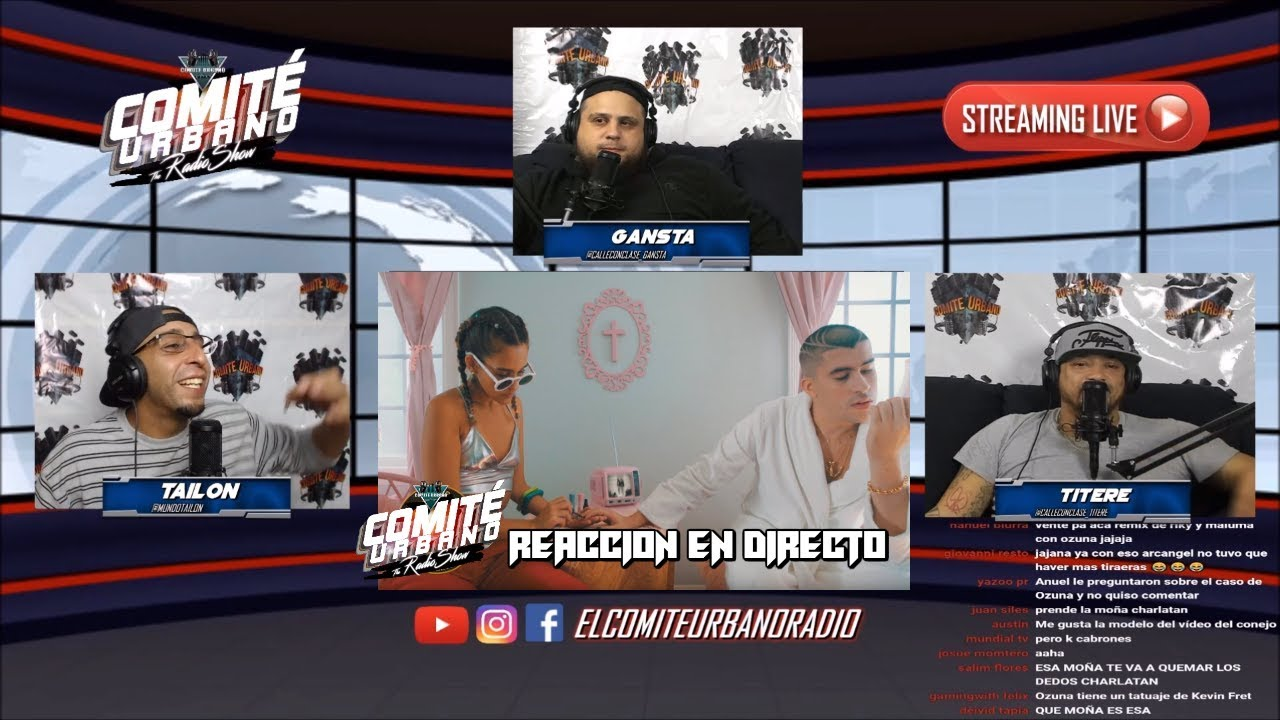 [Reaccion] Caro - Bad Bunny ( Video Oficial ) Ft Ricky Martin #ComiteUrbanoLive