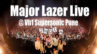Major Lazer Live Vh1 Supersonic 2018 Pune India (Exclusive)