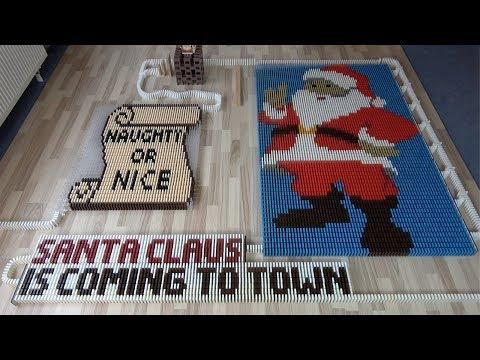 Christmas Songs in 27,000 dominoes