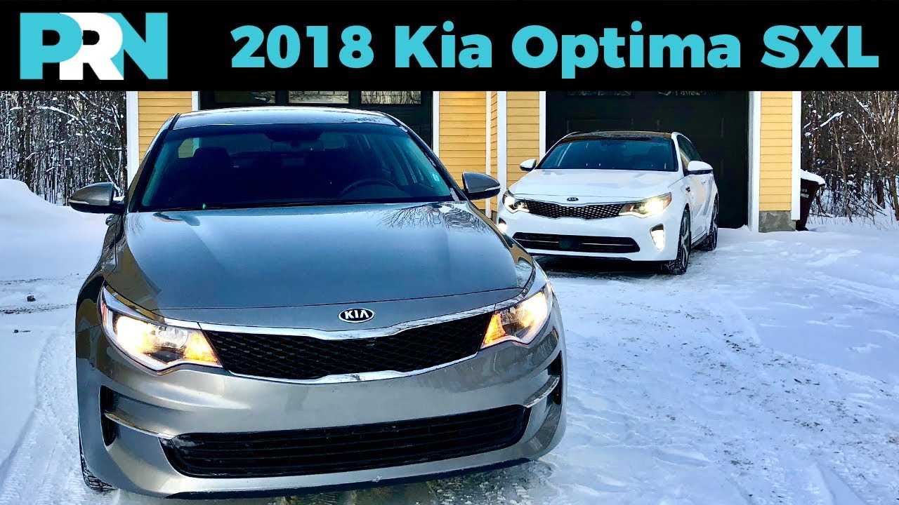 1 Mid Size Sedan 2018 Kia Optima Sxl Turbo Testdrive Spotlight