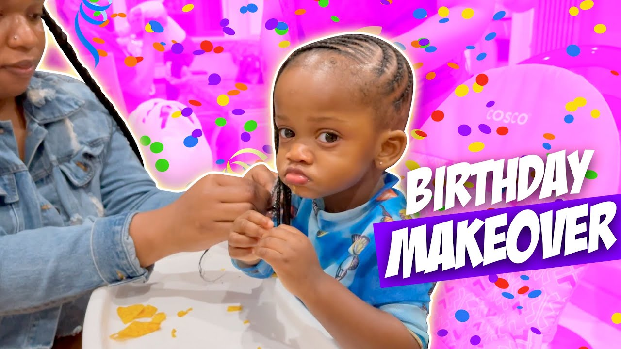 Melly Gets A BIRTHDAY Makeover *Birthday Party Preparation*