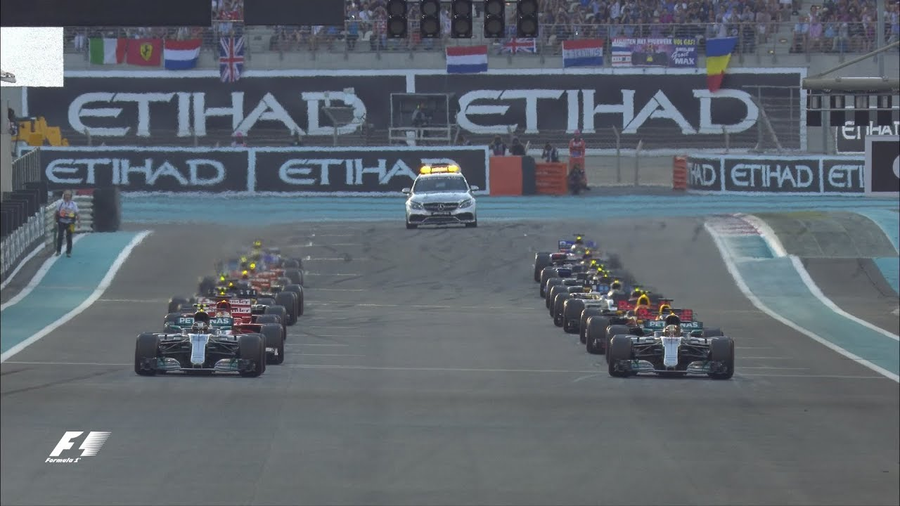 2017 Abu Dhabi Grand Prix:  Race Highlights