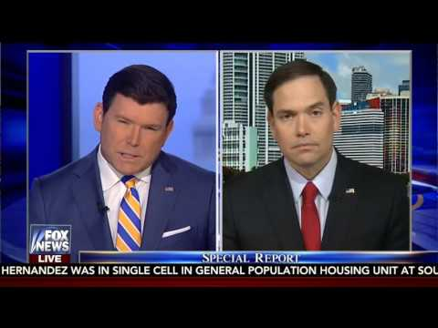 Rubio discusses Iran and Venezuela on Fox News' Special Report