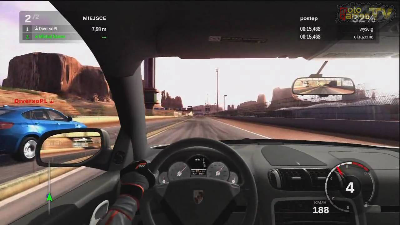 Forza Motorsport 3 1 Mile Drag Bmw X6 M Vs Porsche