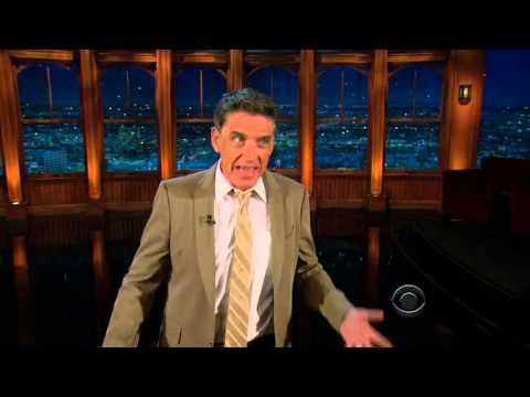 Late Late Show with Craig Ferguson 8/12/2010 Emma Thompson, Carlos Alazraqui