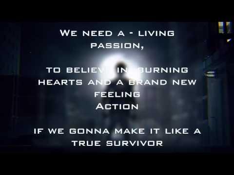 David Hasselhoff - True Survivor Lyrics [ENG]