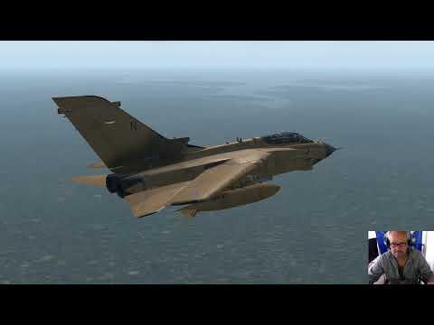 Tornado GR4 on World tour flight 76 Guyana.