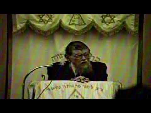 "HaRav Mordechai Gifter zt""l - Chol Hamoed Pesach 1988"