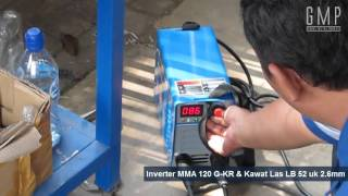 multipro welding machine mma 120 g kr with lb 52 2 6mm
