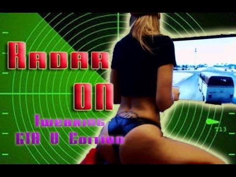 Radar ON  Hot White Girl Twerking (GTA V Edition) - YouTube