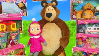 Download Masha and the Bear Toys: Dolls & Masha's Playhouse Toy Play Surprise for Kids Mp3 and Videos
