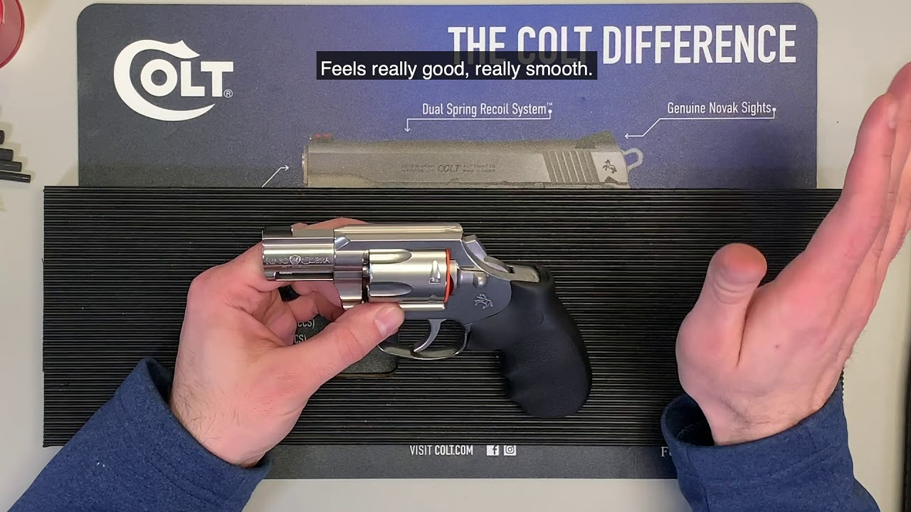 Colt Builds Wheel Gun Line with New King Cobra Carry (VIDEO
