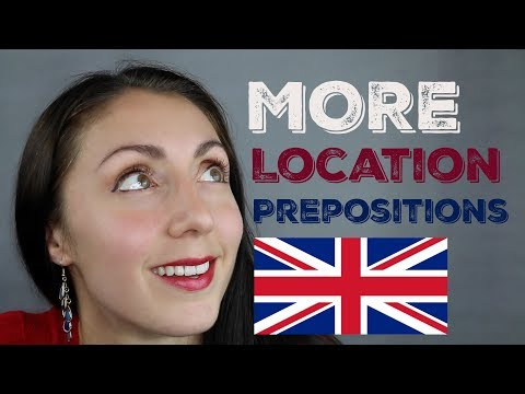 ENGLISH PREPOSITIONS: Location / Learn English / LIVE British English Lesson with Anna English