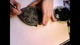 Painting foam to look like armor/metal - tutorial by GERMIA