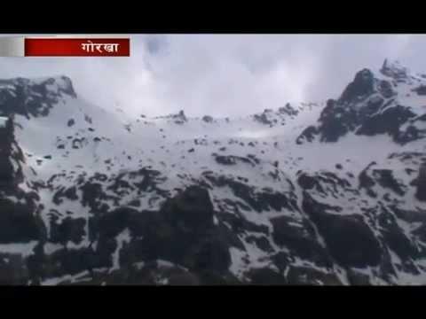 Tourist destination Kaal lake - Gorkha