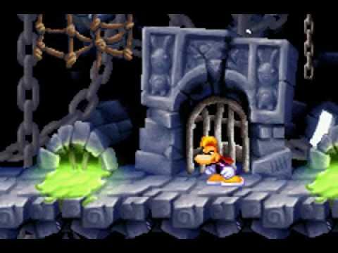 Rayman Raving Rabbids (GBA) - Gameplay (Part 1)