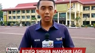 Rizieq Shihab Kembali Mangkir, Polda Jabar Akan Jemput Paksa - iNews Petang 10/02