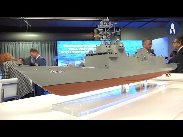 SNA 2020 Day 2 - Fincantieri FFG(X), JMSDF Collaborative Table, Raytheon SM-3 Block IIA
