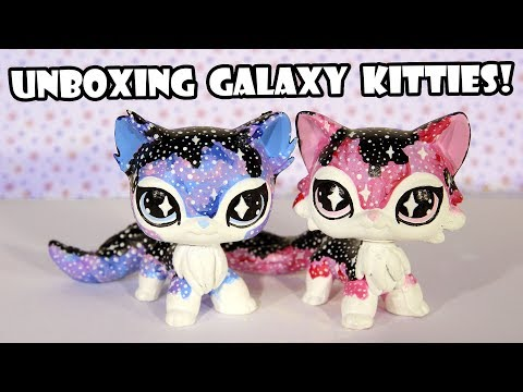 Unboxing Galaxy Twin Kitties LPS Customs by Emmas_Customs!