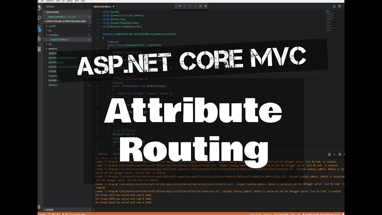 ASP.NET Core MVC Attribute Routing