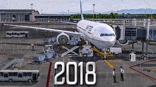 New Flight Simulator 2018 - P3D 4.1 [Spectacular Realism]