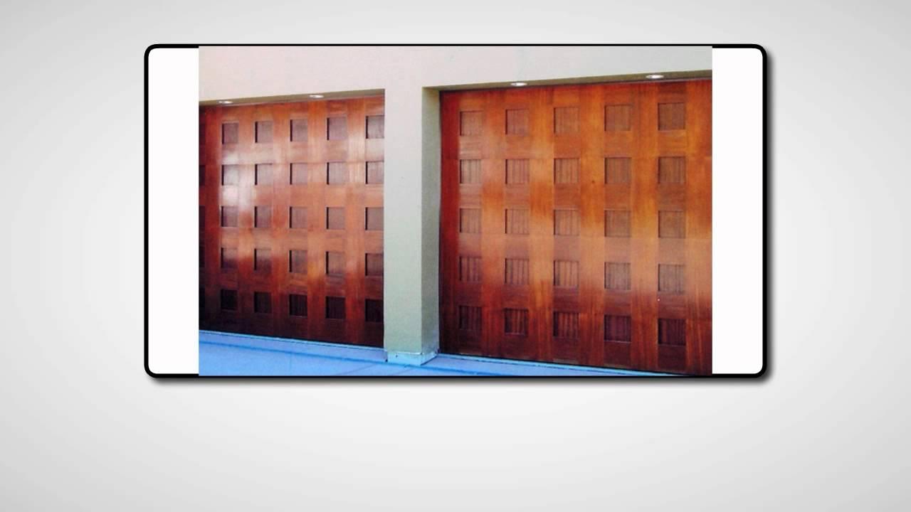 Reparacion y mantenimiento de portones electricos para for Puertas de madera para cochera