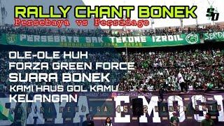 Download Mp3 90 Menit Bernyanyi..!!  Rally Chant Bonek Tribun Utara Dukung Persebaya Vs Persi