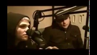Interview With Gerard Way And Frank Iero Of MCR Rus Sub