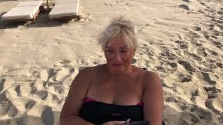 Аланья Турция Утро Пляж Клеопатры и ее Брата Калигулы