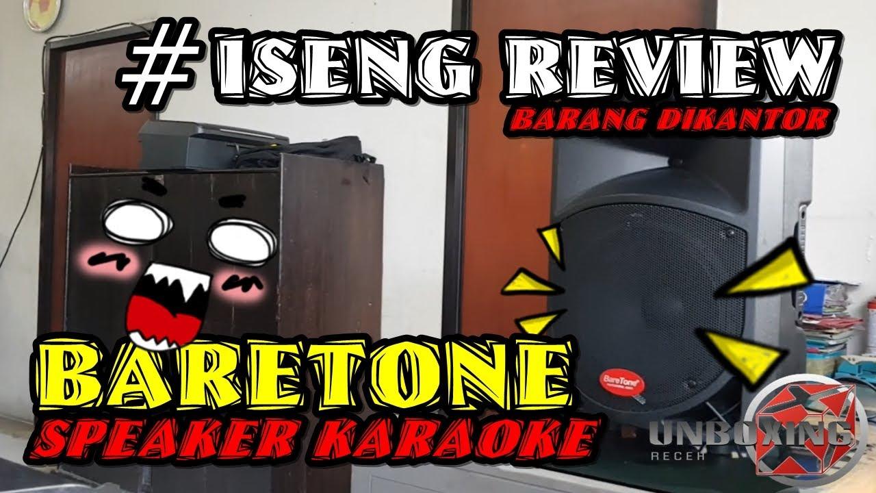 Review Speaker Bluetooth Karaoke Terbaik Baretone - YouTube