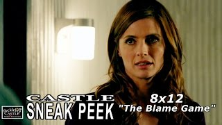 "Castle 8x12 Sneak Peek #2 - Castle Season  8 Episode 12 Sneak Peek ""The Blame Game"""