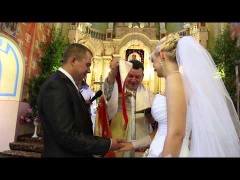 Католическое венчание КЛИП