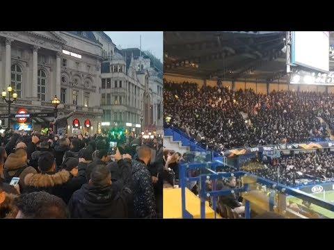PAOK Ultras In London | Chelsea vs PAOK Thessaloniki FC - Ultras Way✔