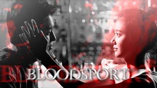 ᗌGI TAE✘JANG MI || Bloodsport [for SASHA]