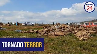 WATCH   'There was timber flying' -  KZN residents recall the moment destructive tornado hit