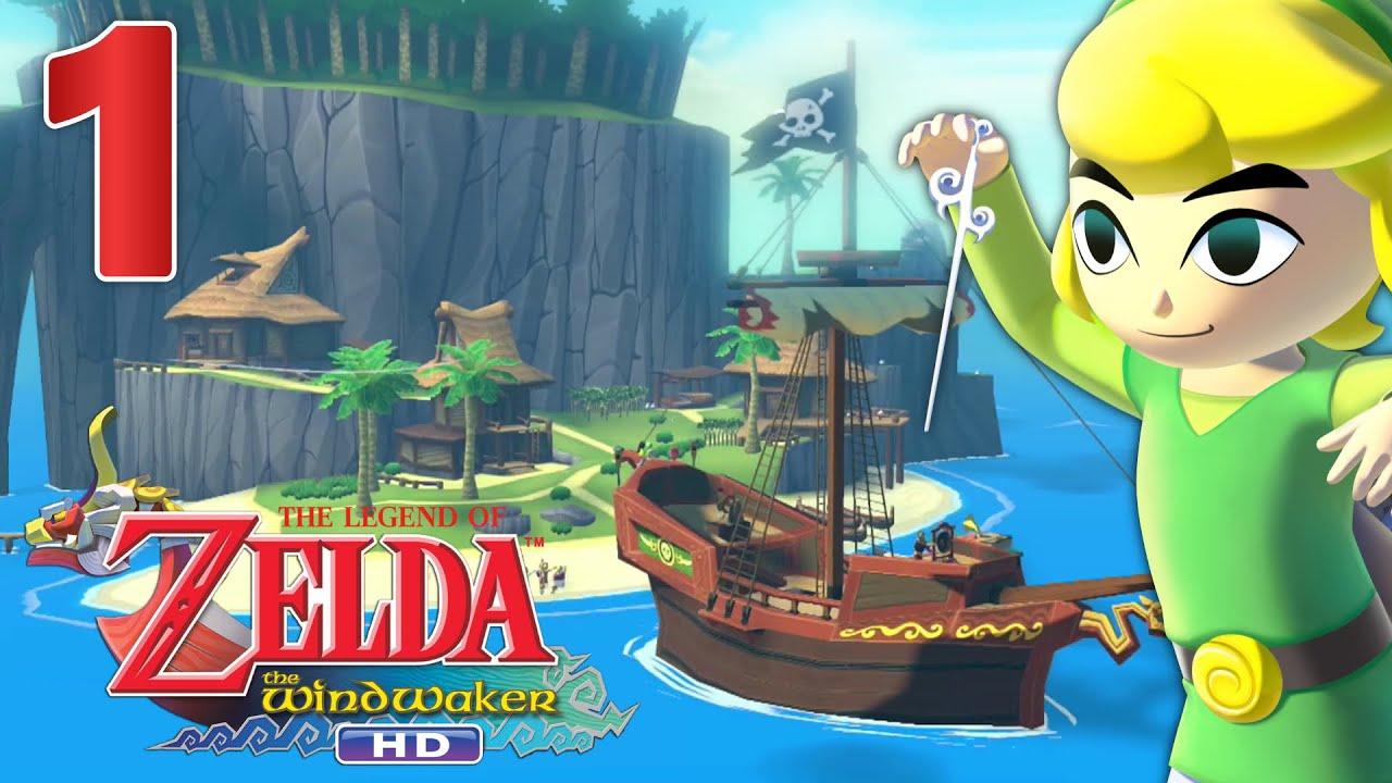 Zelda Wind Waker Hd Episode 1 Fr Wii U Fiere D Etre Pirate Youtube