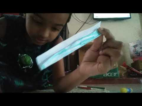 How to make a magical paper wand
