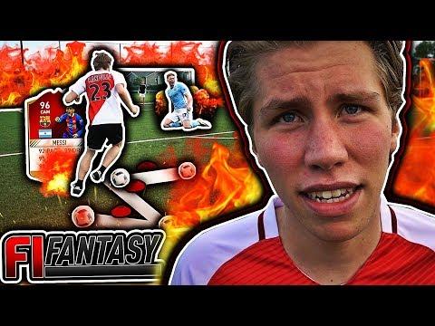 DRIBLELØYPE CHALLENGE VS FIFA!! ⚡️🏆 LAGET ER KOMPLETT & SISTE KAMP!!