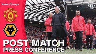 Jose Mourinho Post Match Press Conference | Manchester United 1-1 Wolverhampton Wanderers