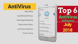 Top 6 Best Antivirus Software of Android in July 2018