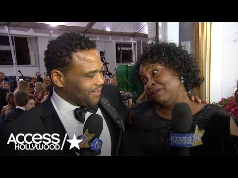 Golden Globes: Anthony Anderson Discovers Mama Doris' New Gig! | Access Hollywood