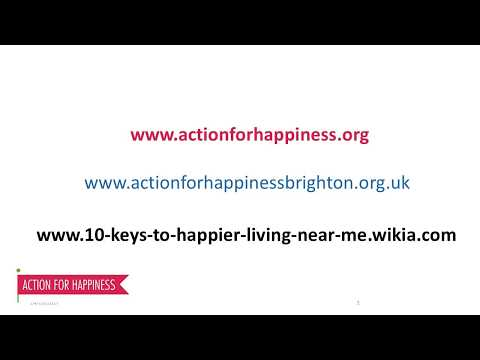 10 Keys to Happier Living Wiki   AFH