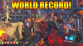 [World Record] BO3 Gorod Krovi Zombies First Room Solo 42 Manches!
