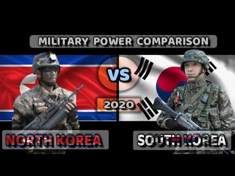 North Korea Vs South Korea Military Compare 2020