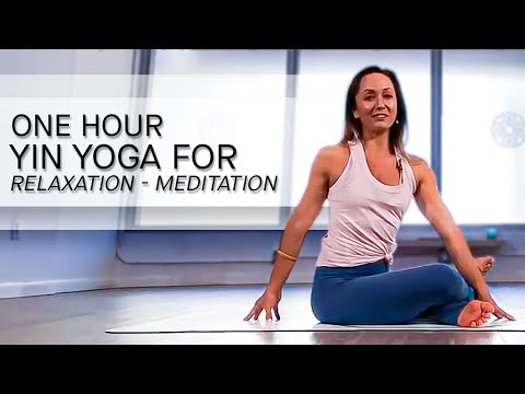 Yin Yoga For Relaxation—Meditation For Love And Happiness — One Hour Class