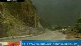 NTG: 29, patay sa bus accident sa Benguet noong 2005