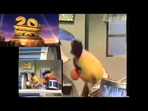 Bert & Ernie  20th Century Fox fanfare
